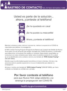 Icon of (Spanish) NYS ContactTracing Flyer (2)