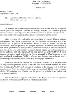 Icon of #1 WAM Software Funding Agreement