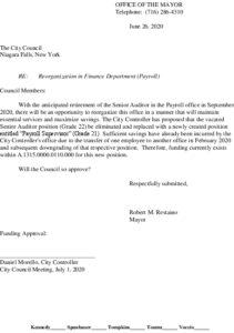Icon of #4 Mayor Finance Reorg - Paroll Supervisor