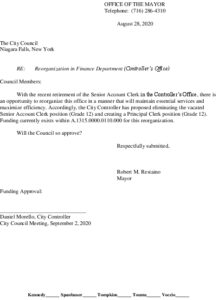 Icon of #3 Mayor Finance Reorg - Principal Clerk