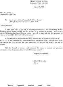 Icon of #5 Mayor School Tax Processing