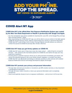 Icon of COVID AlertNY OnePager V5