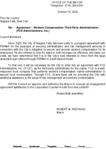 Icon of #4 Mayor Ltr Workers Comp TPA - FCSEvans