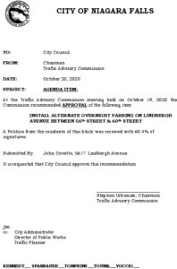Icon of #11 Council Agenda OCT Alt Overnight - Lindbergh Ave