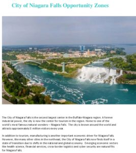 Icon of Niagara Falls' Opportunity Zones