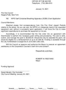 Icon of #5 Mayor SCBA - Fire Dept Grant