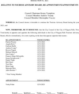 Icon of #11Tourism Board Appointments