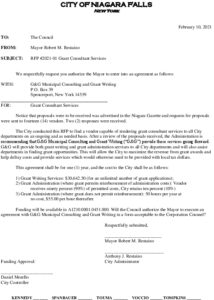 Icon of #3 Grant Consultant Services RFP Council Item 021721 G&G