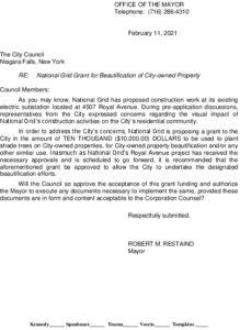 Icon of #4 Mayor National Grid Grant Award - City Beautification