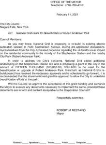 Icon of #5 Mayor National Grid Grant Award - Stephenson Park