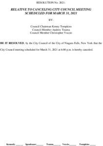 Icon of #11 Resolution Cancel 3-31-21 City Council Meeting