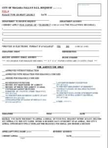 Icon of FOIL COVER SHEET - Request & Response Form 2