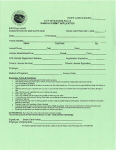 Icon of Monthly Permit - Non County Resident, Downtown Employee