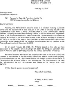 Icon of #2 Mayor Ltr - Remove Fees From Taxes