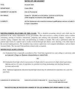 Icon of Account Clerk 031921
