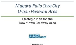 Icon of Niagara Falls Downtown Gateway Draft Urban Renewal Area Action Plan (2011) 033021