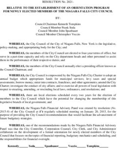 Icon of #8 RESOLUTION - City Council  Orientation II Final