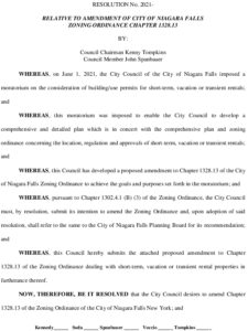 Icon of #8 Resolution - Amend Zoning Ordinance Chapter  1328.13