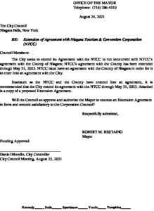 Icon of #7 Mayor Ltr - NTCC Agreement Extension 2021